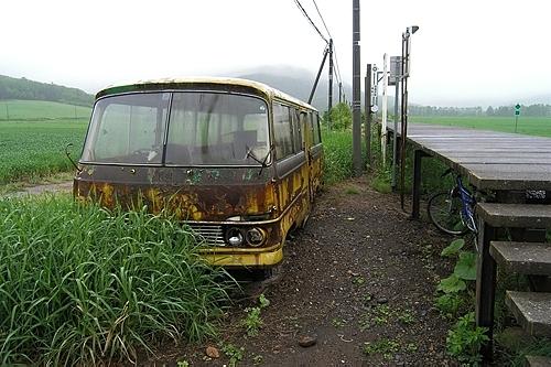 バスの待合室