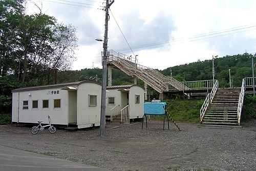 伊納駅・駅舎
