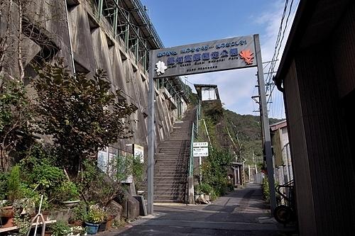 駅出入口階段