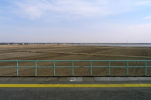 十二橋駅からの眺め