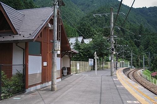 川井駅ホーム