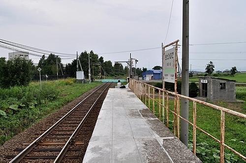 北日ノ出駅ホーム