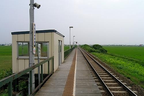 北永山駅ホーム