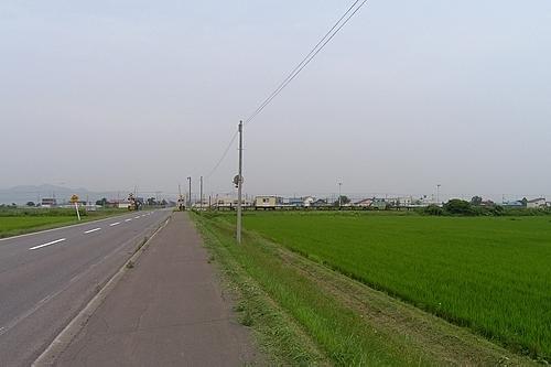 北永山駅と周辺の農地