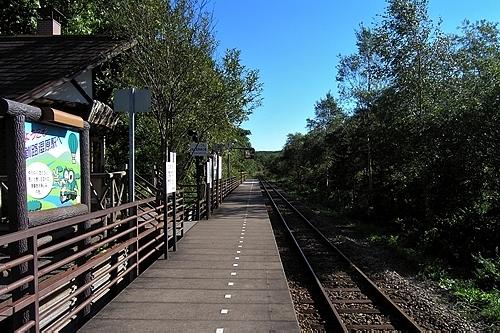 釧路湿原駅ホーム