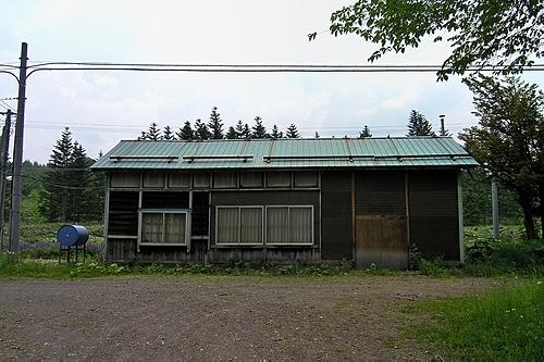奥白滝駅・旧駅舎