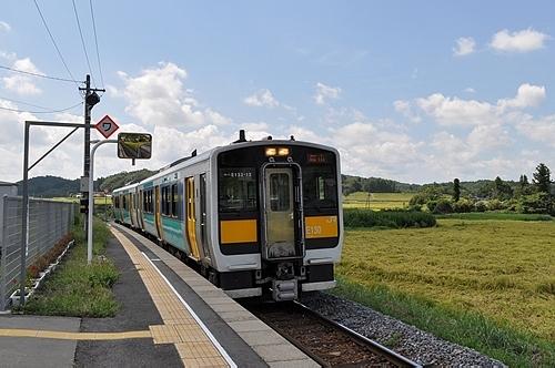 水郡線の列車