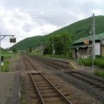 下白滝駅ホーム