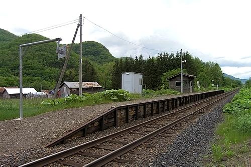 旧白滝駅構内