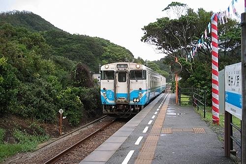 牟岐線の列車