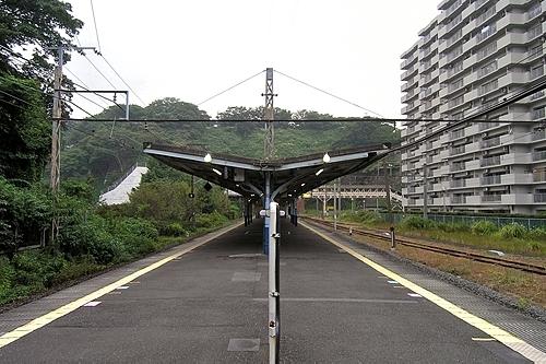 田浦駅ホーム