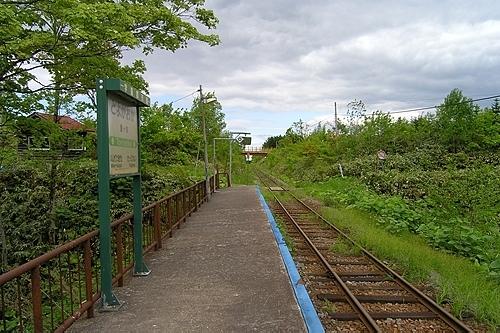豊ヶ岡駅ホーム