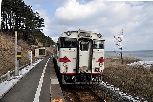 八戸線普通列車