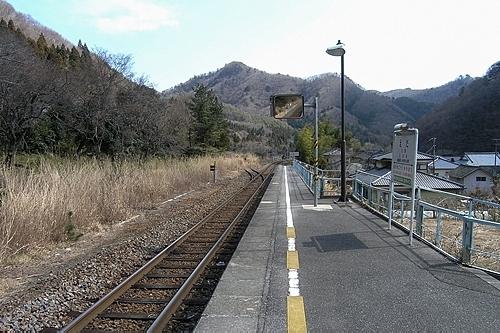 江田駅ホーム
