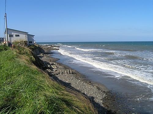 海食崖の海岸