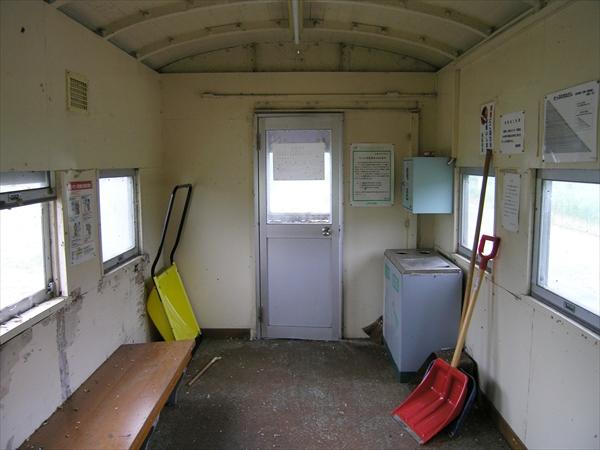 除雪道具とゴミ箱
